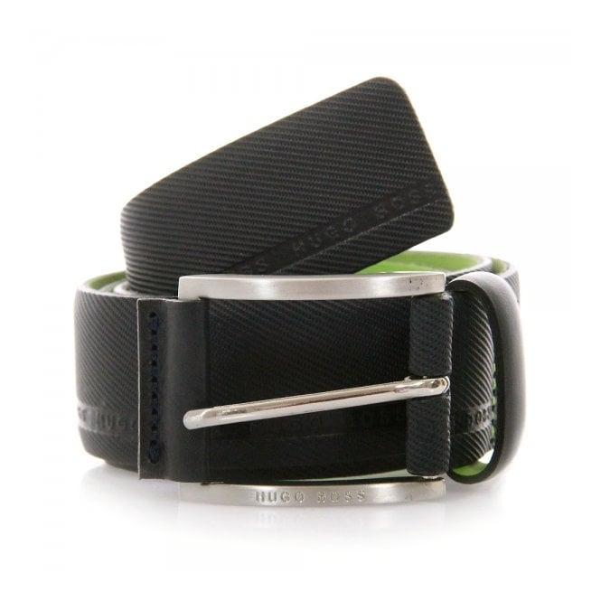 Boss Green Hugo Tymo Cowhide Black Belt 50280785