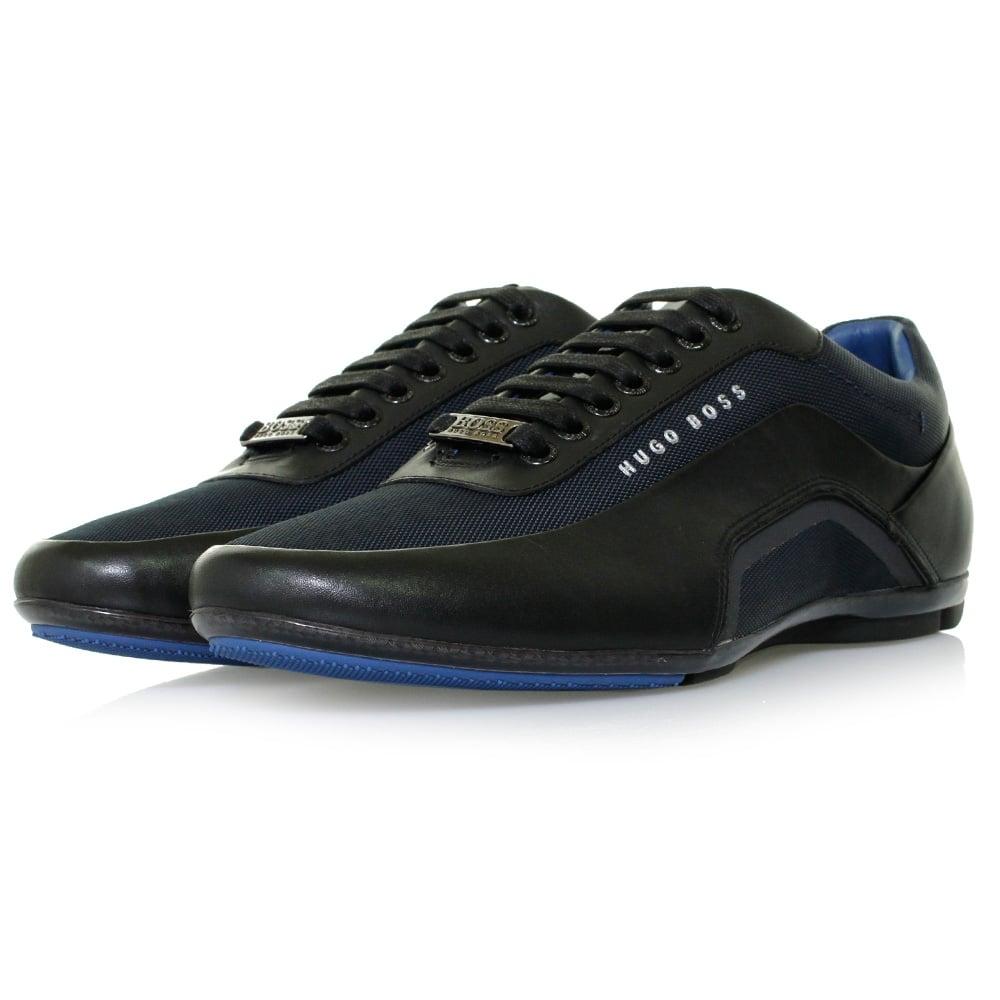 hugo boss sneakers hbracing lowp itny dark blue shoe. Black Bedroom Furniture Sets. Home Design Ideas