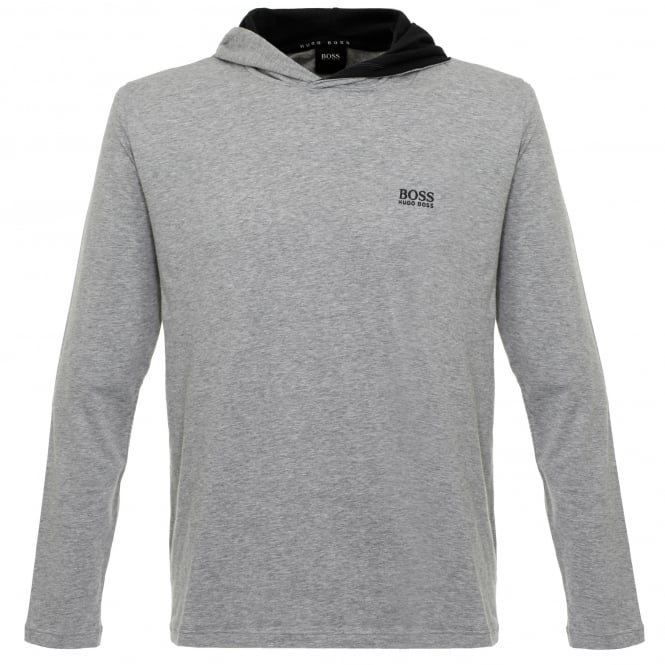 BOSS Hugo Boss Hugo Boss Hooded Medium Grey T-Shirt 50321771