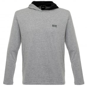 Hugo Boss Hooded Medium Grey T-Shirt 50321771
