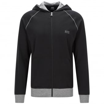 Hugo Boss Jacket Hooded Black Track Top 50330947
