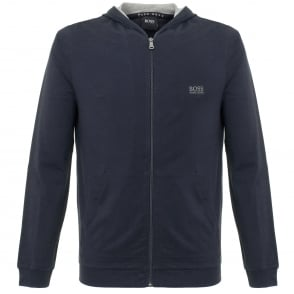 Hugo Boss Jacket Hooded Dark Blue Track Top 50297316