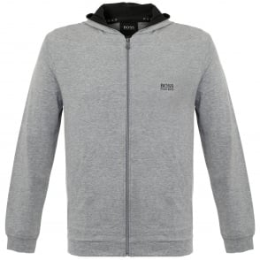 Hugo Boss Jacket Hooded Medium Grey Track Top 50297316