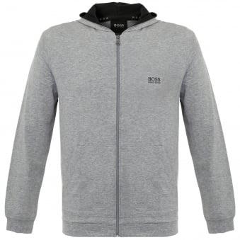 Hugo Boss Jacket Hooded Medium Grey Track Top 50297316