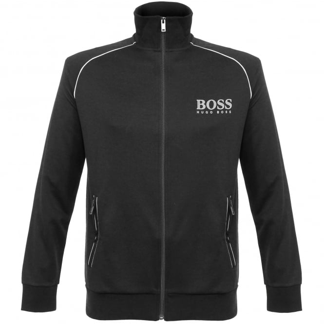 BOSS Hugo Boss Hugo Boss Jacket Zip Black Track Top 50322048