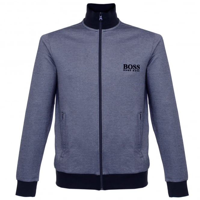 BOSS Hugo Boss Hugo Boss Jacket Zip Blue Track Top 50326828