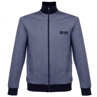 Hugo Boss Jacket Zip Blue Track Top 50326828