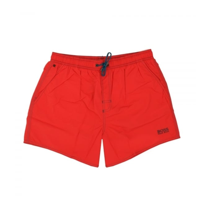 BOSS Hugo Boss Hugo Boss Lobster Bright Red Swim Shorts 50269486
