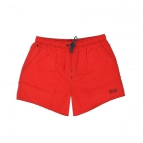 Hugo Boss Lobster Bright Red Swim Shorts 50269486
