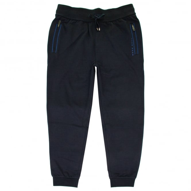 BOSS Hugo Boss Hugo Boss Long Pant Cuff Dark Blue Track Pants 50322097