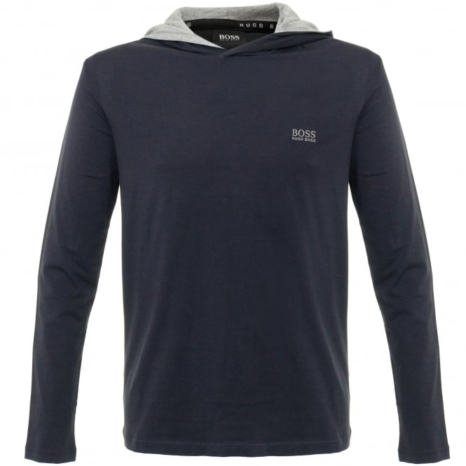 BOSS Hugo Boss Hugo Boss LS Shirt Hooded Dark Blue Sweatshirt 50321771