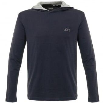 Hugo Boss LS Shirt Hooded Dark Blue Sweatshirt 50321771