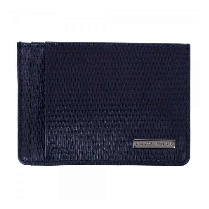 BOSS Hugo Boss Hugo Boss Luber Dark Blue Card Holder 50248861