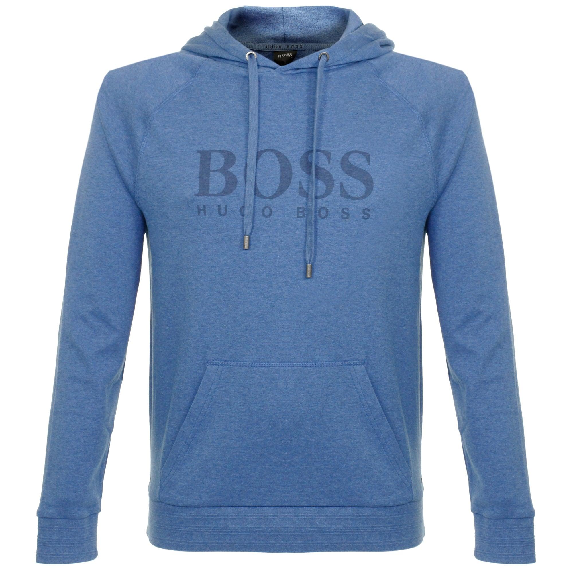 Hugo Boss Online Store   Mottled Medium Blue