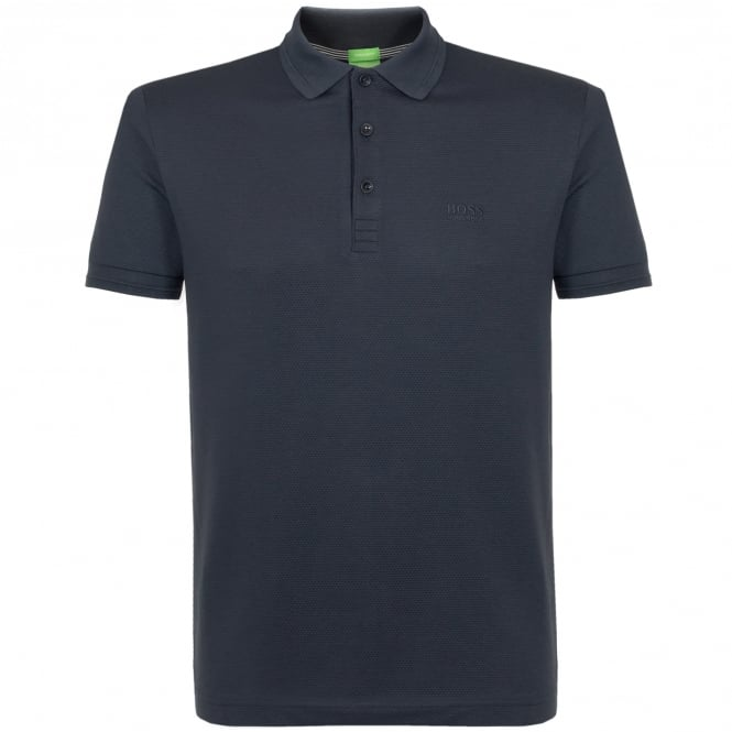 BOSS Hugo Boss Hugo Boss Parox Navy Polo Shirt 50326209