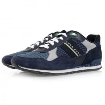 Hugo Boss Runcool Camo Medium Blue Shoes 50311636