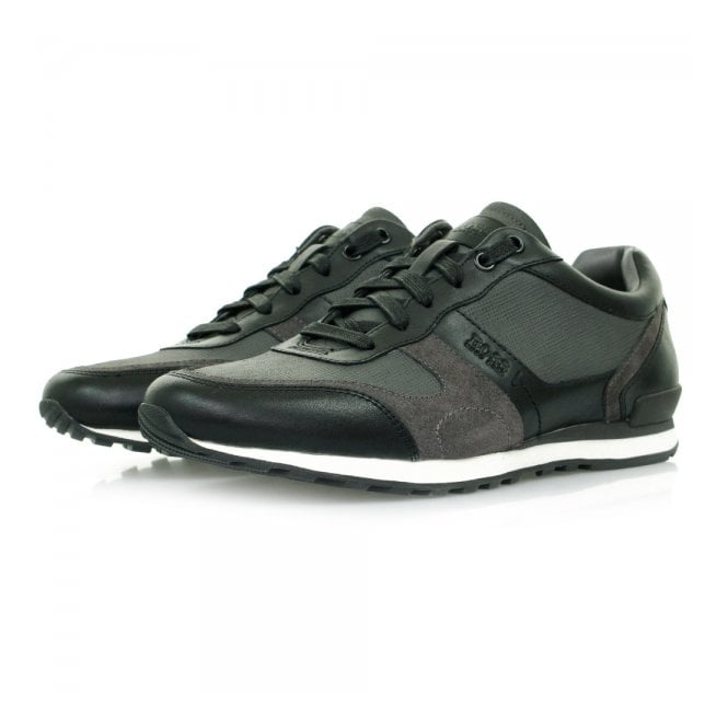BOSS Hugo Boss Hugo Boss Runner Dark Grey Shoes 50305552