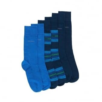 Hugo Boss S 3P Dark Blue Design Box 50308113