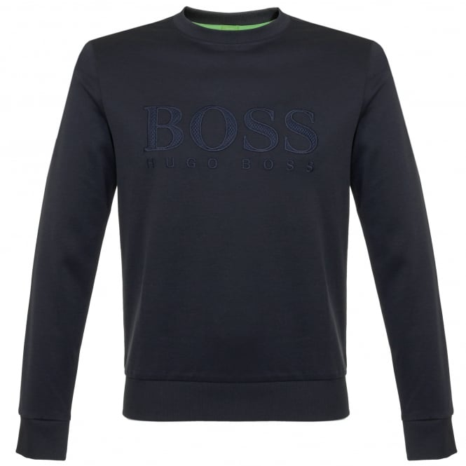 Boss Green Hugo Boss Salbo Navy Sweatshirt 50324769