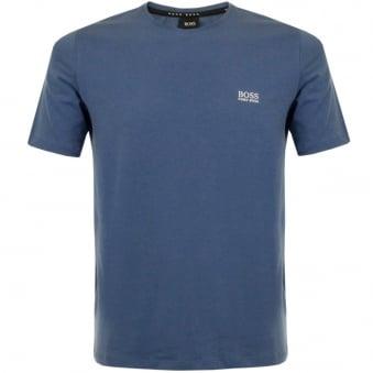 Hugo Boss Shirt RN SS Medium Blue T-Shirt 50297318