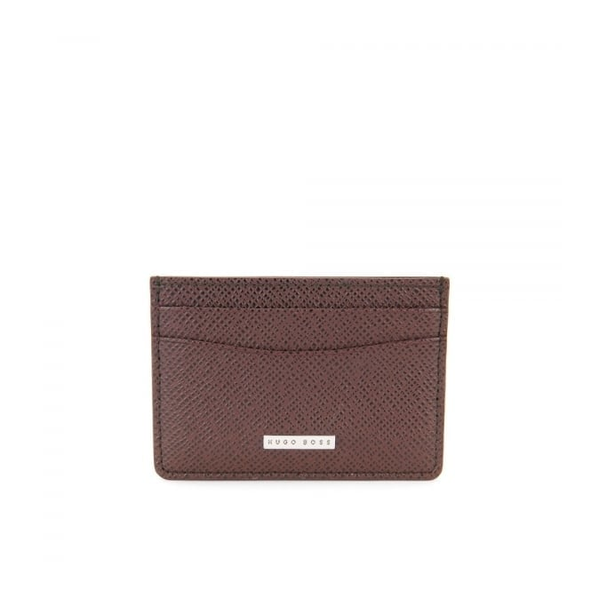 BOSS Hugo Boss Hugo Boss Signature _S Dark Red Card holder 50311746