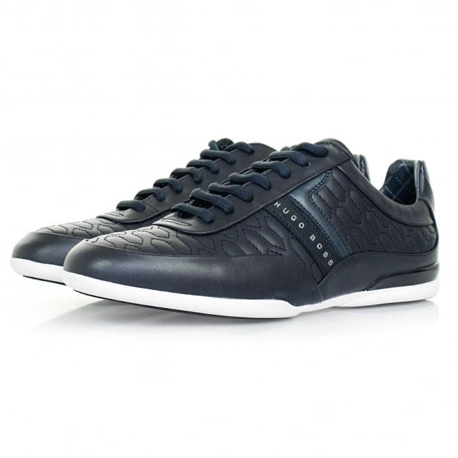 Boss Green Hugo Boss Space Lowp Itma Dark BLue Shoe 50322363