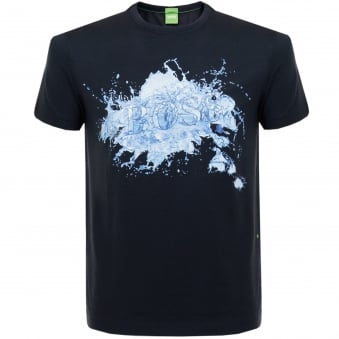 Hugo Boss Tee 8 Navy T-Shirt 50329420