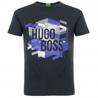Hugo Boss Teeos Black T-Shirt 50323993