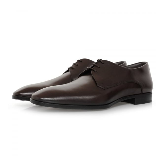BOSS Hugo Boss Hugo Boss Urbat Dark Brown Leather Shoe 50298455