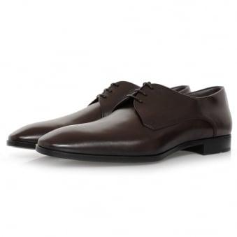 Hugo Boss Urbat Dark Brown Leather Shoe 50298455