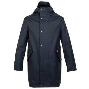 Hunter Original Rubberised Navy Hunting Coat 10028805