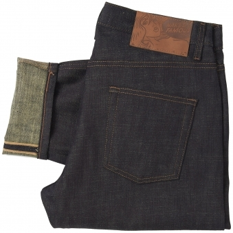 Indigo Slub Stretch Easy Guy Selvedge Denim Jeans