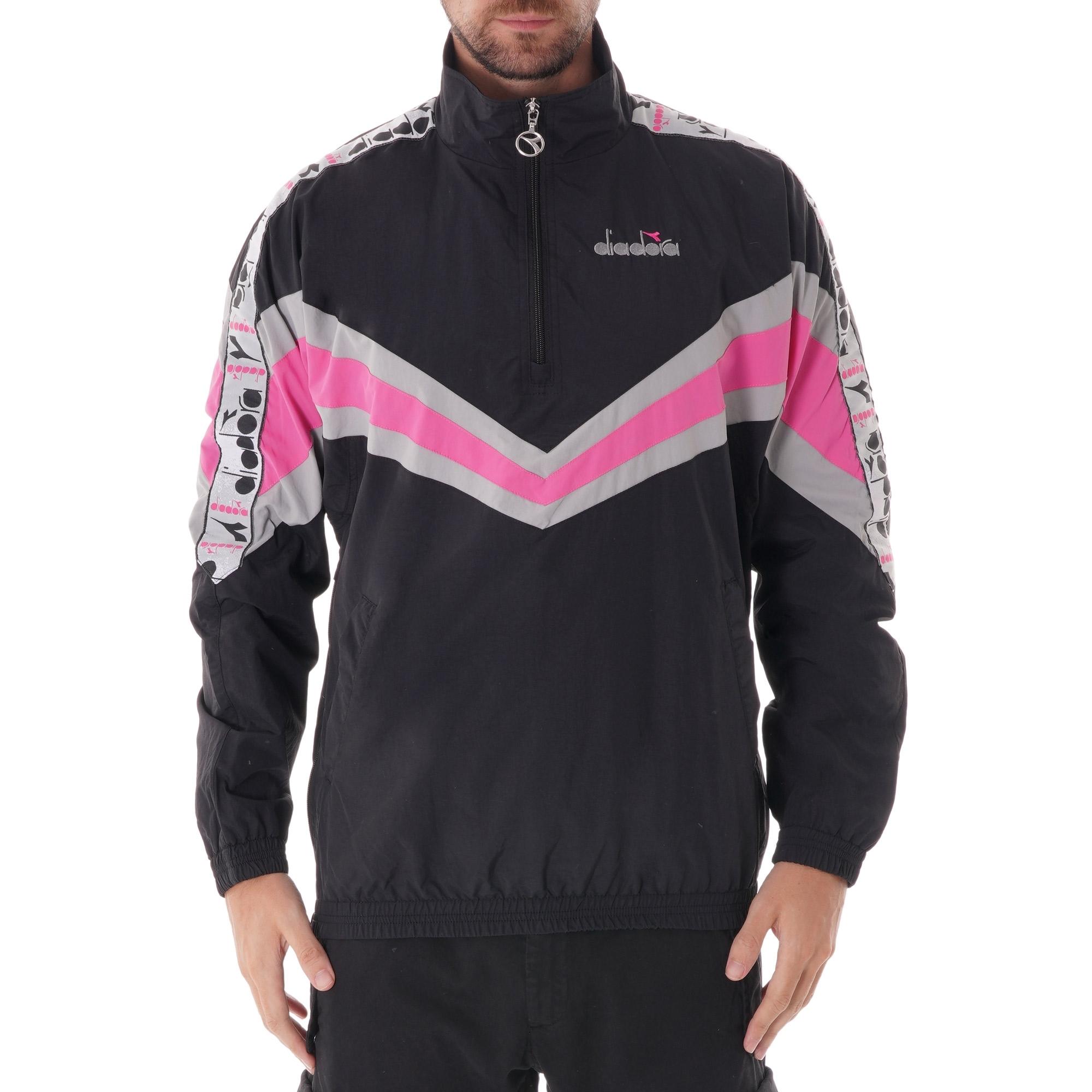 f5f1d152 Jacket 1/2 zip MVB - Black/Rose