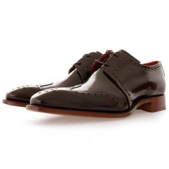 Jeffery West Gibson Pickled Walnut Leather Shoe 1034JW