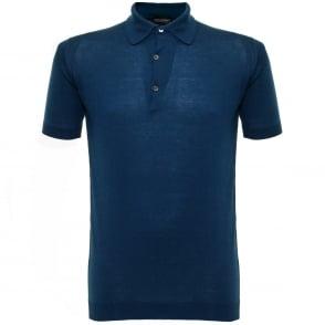 John Smedley Adrian SS Indigo T-Shirt