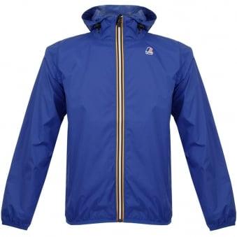 K-Way Claude Le Vrai 3.0 Royal Blue Pac-a-Mac Jacket 618