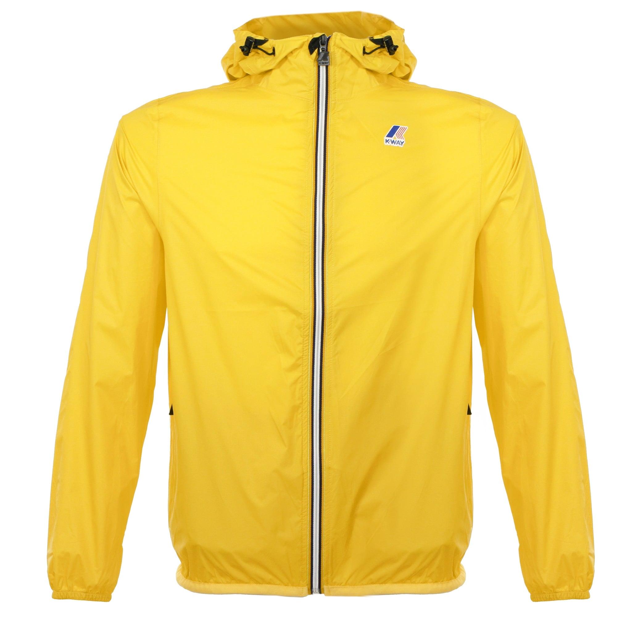 K-Way Le vrai Claude 3.0 Yellow Mustard Jacket K004BD0
