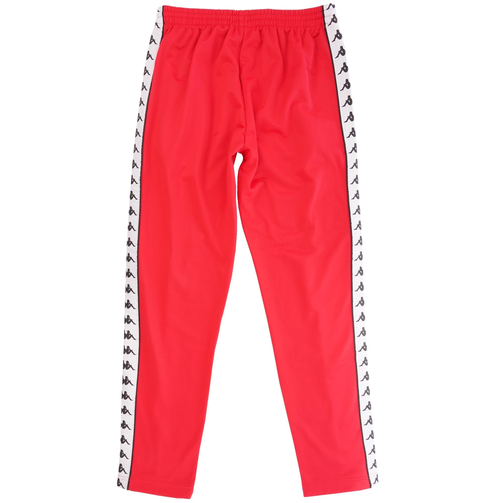 d5e4b0ecf8 222 Banda Astoria Slim Track Pant - Red & Black