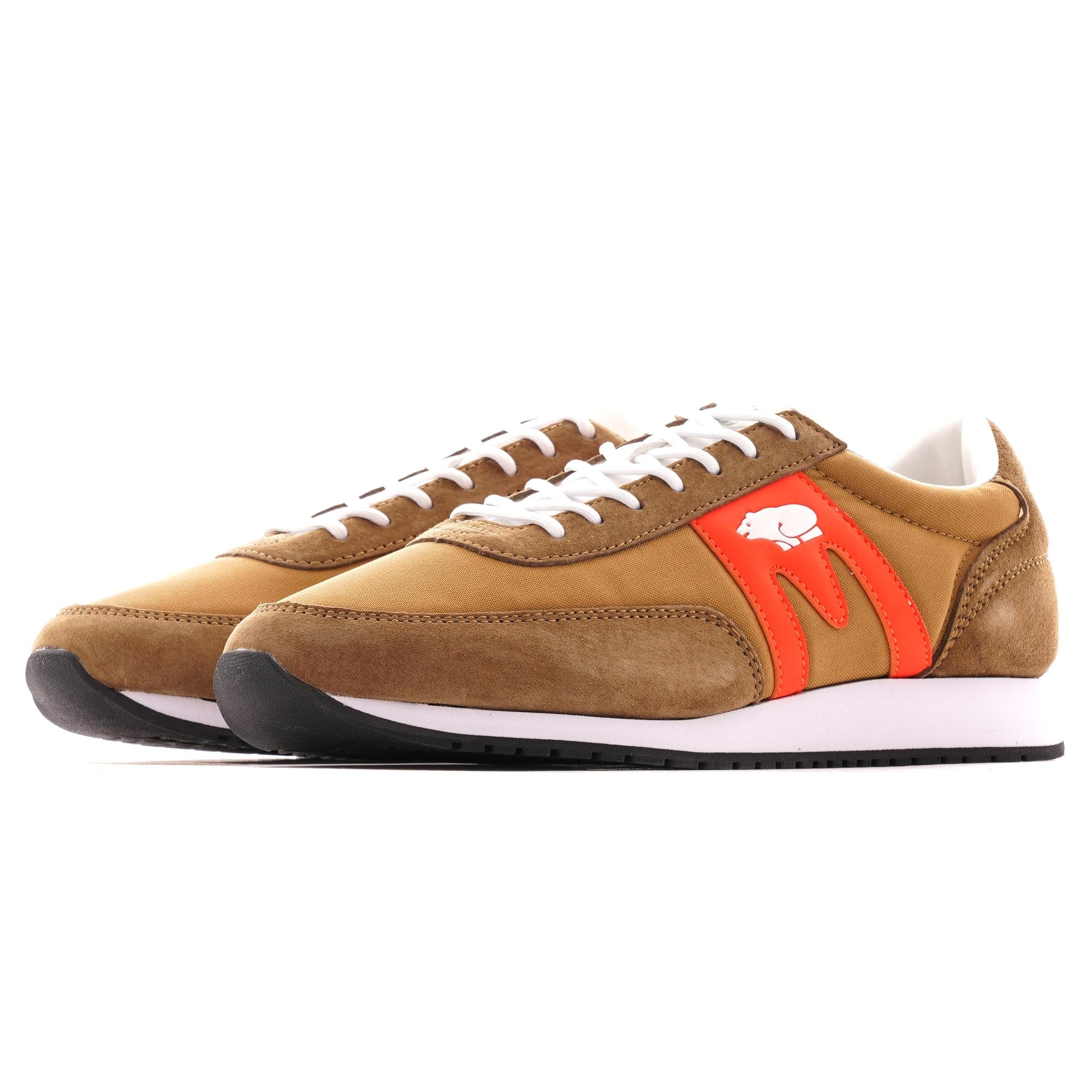 Karhu Albatross Sneaker | Brown/Flame