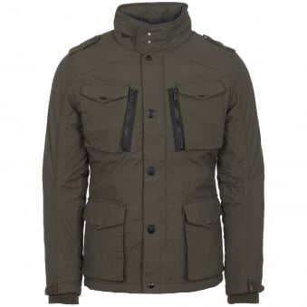 Khaki Field Parka Jacket
