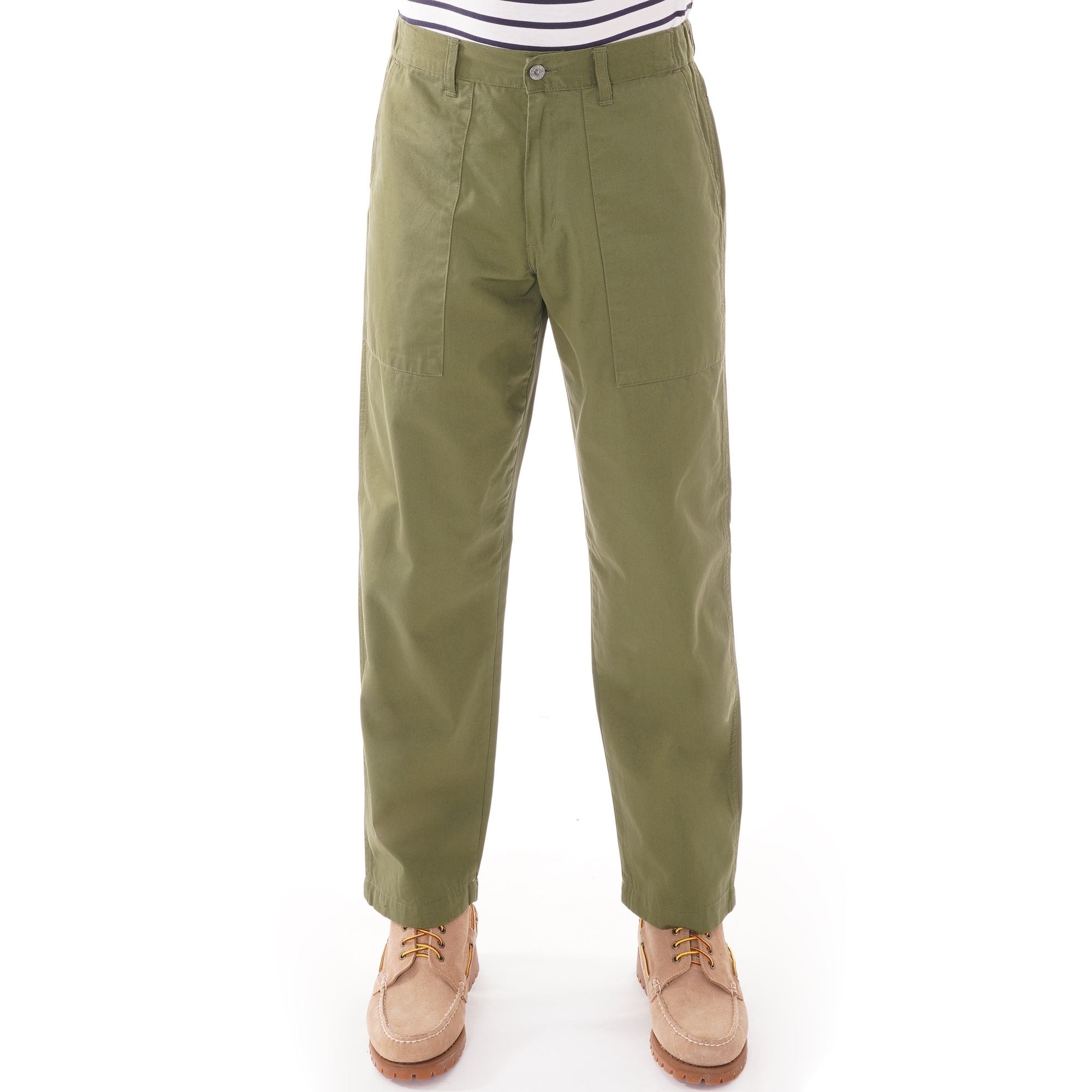 Military Green Edwin Jeans Labour Pant