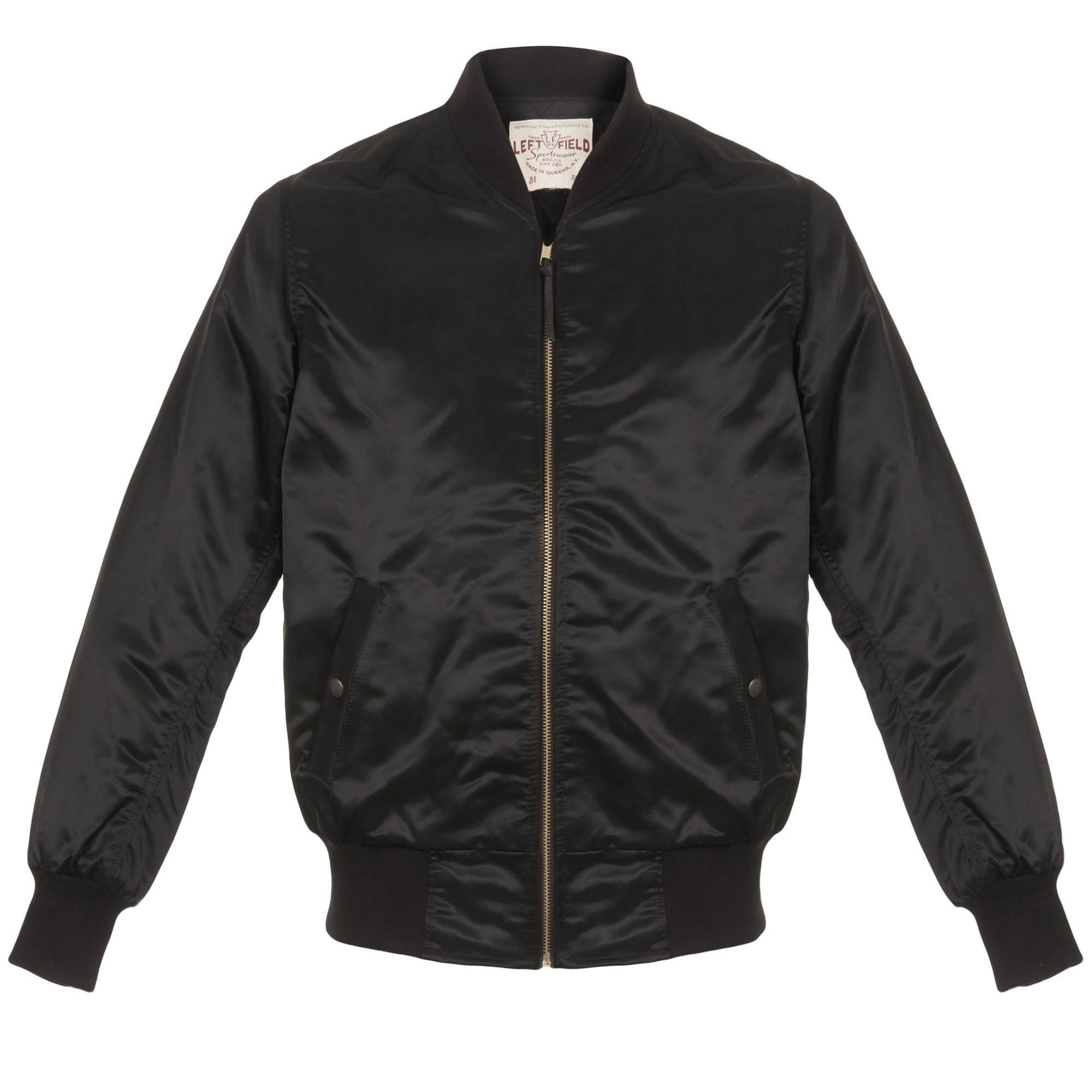 Left Hand Clothing Store Car Club Black Jacket