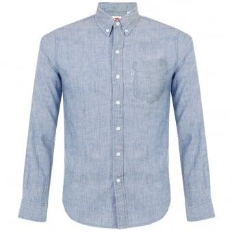 Levi's Classic One Pocket Light Indigo Shirt 19586-0014