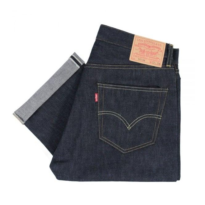 Levi's Vintage ® Levis Vintage 1955 501 XX Rigid Selvage Denim Jeans 50155-0116
