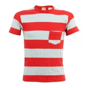Levis Vintage 1960s Striped Red T-Shirt 31960-0021