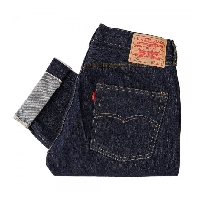 6e1f3076a57ea8 Levis Vintage 1966 Customized 501 Selvedge Denim Jeans 66466-0004