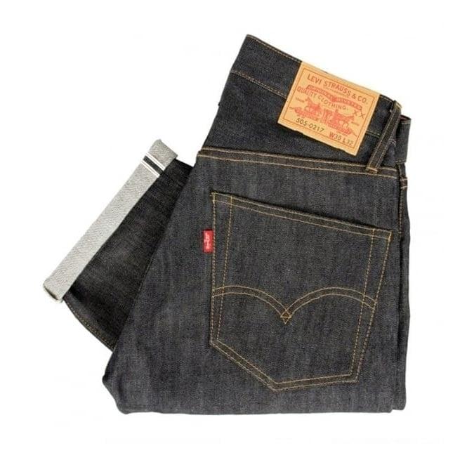 Levi's Vintage ® Levis Vintage 1967 - 505 Rigid Pre-Shrunk Dark indigo Jeans