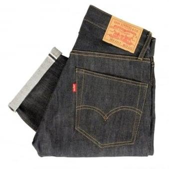 Levis Vintage 1967 - 505 Rigid Pre-Shrunk Dark indigo Jeans