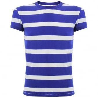 Levi's Vintage 1970'S Blue Stripe T-Shirt 32703-007