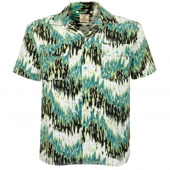 Levi's Vintage Spread Collar Green Haze Shirt 29158-0000